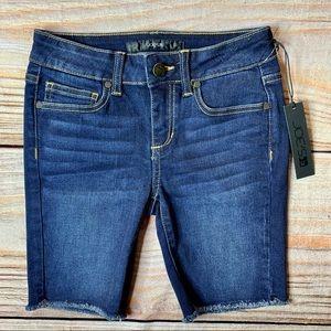 NWT Joe's Jeans denim cutoff shorts size 10